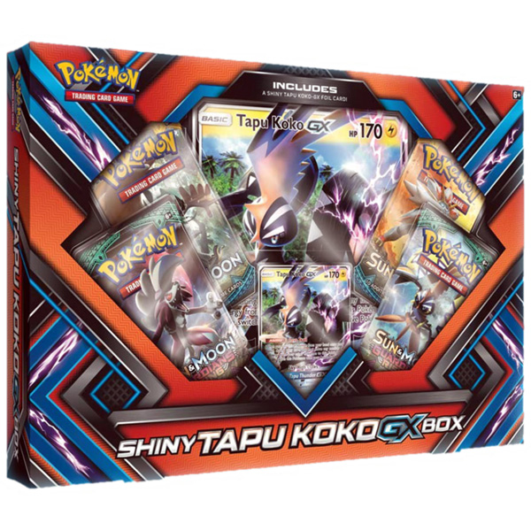 Pokémon, Shiny Tapu Koko Box