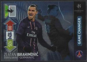 Game Changer, 2012-13 Adrenalyn Champions League Update, Zlatan Ibrahimovic
