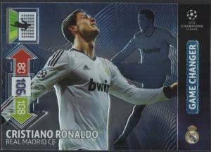 Game Changer, 2012-13 Adrenalyn Champions League Update, Cristiano Ronaldo