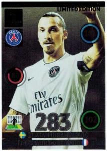Limited Edition, 2014-15 Adrenalyn Champions League, Zlatan Ibrahimovic