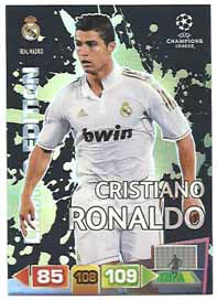 Limited Edition, 2011-12 Adrenalyn Champions League, Cristiano Ronaldo