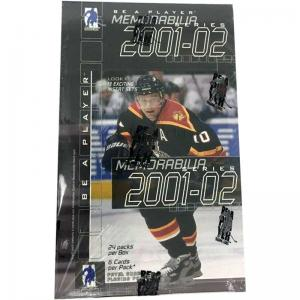 Sealed Box 2001-02 Be A Player Memorabilia Hobby