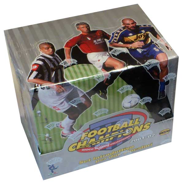 Hel Display Startlekar 2001-02 Serie A Football Champions (Italienska ligan)
