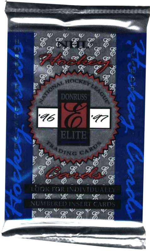 1 Pack 1996-97 Donruss Elite Hobby