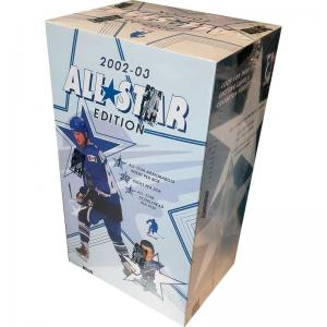 Hel Box 2002-03 Be A Player All Stars (With Bobble Head)
