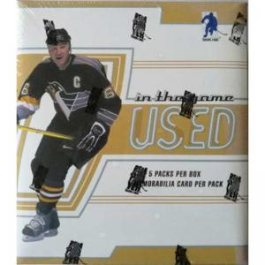 Sealed Box 2002-2003 Be A Player In the Game Used Hobby