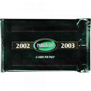 1st Paket 2002-03 Be A Player Parkhurst Hobby