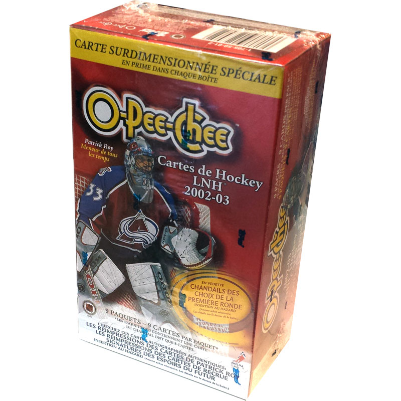 Hel Blaster Box 2002-03 O-Pee-Chee