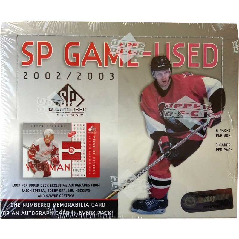 Hel Box 2002-2003 Upper Deck SP Game-Used Edition