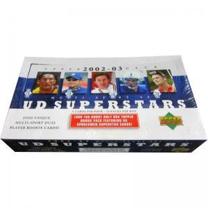 Hel Box 2002-03 Upper Deck Superstars Multi-Sport