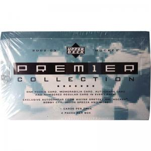 Sealed Box 2002-03 Upper Deck Premier Collection Hobby