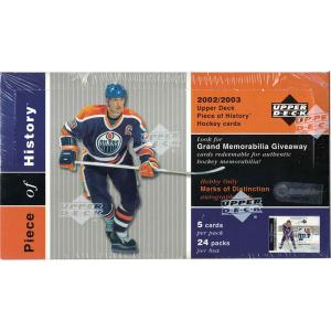 Hel Box 2002-03 Upper Deck Piece Of History Hobby