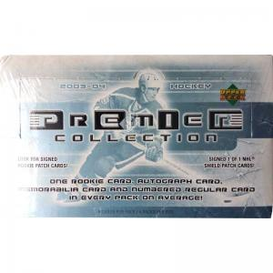 Sealed Box 2003-04 Upper Deck Premier Collection Hobby