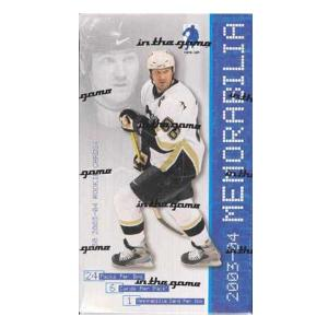 Hel Box 2003-04 Be A Player Memorabilia Hobby