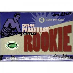 1st Paket 2003-04 In The Game Parkhurst Rookies Hobby