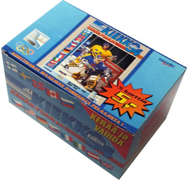 Full Box 1994 Finnish Jää Kiekko / Finnish Ice Hockey 1994