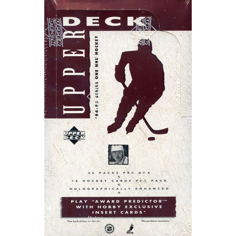 Sealed Box 1994-95 Upper Deck Series 1 Hobby