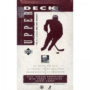 Hel Box 1994-95 Upper Deck Serie 1 Hobby