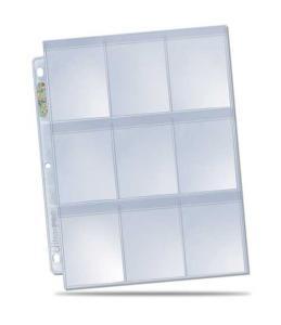 1st Secure plastficka för pärm - Platinum 9-Pocket - SECURE