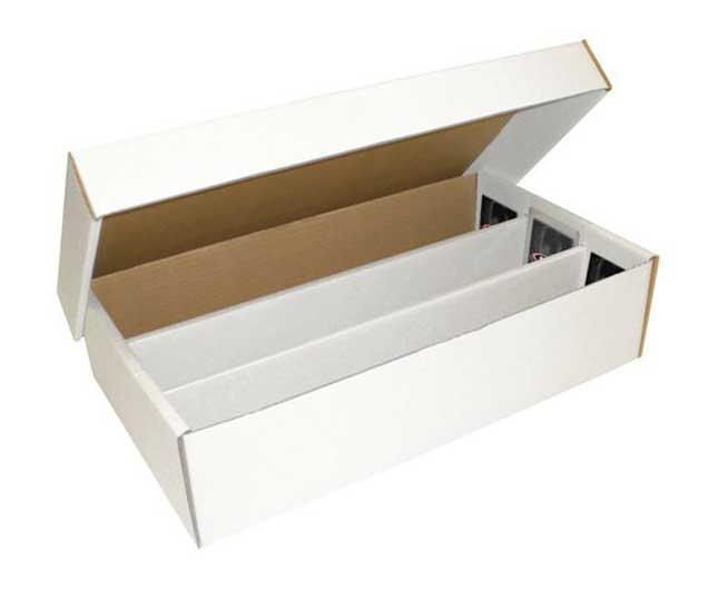 Storage box, 3000 cards (3 rows) / SUPER SHOE STORAGE BOX (3,000 CT.)