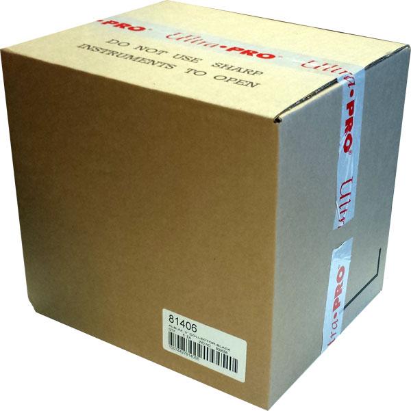 Pärm för lösa plastfickor - 3 ringspärm, Svart. Hel Case - 6st