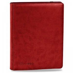 Premium Pro Binder, Röd - 9 Pocket