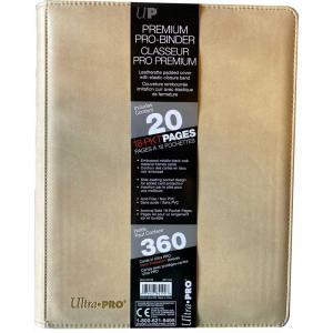 Premium Pro Binder, Vit - 9 Pocket