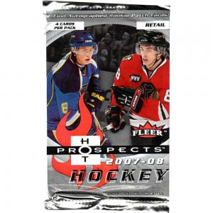 1 Pack 2007-08 Upper Deck Fleer Hot Prospects Retail