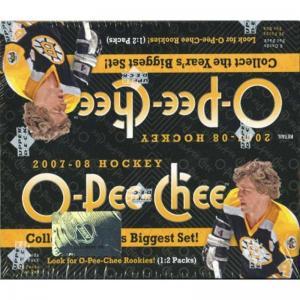 Hel Box 2007-08 Upper Deck O-Pee-Chee Retail