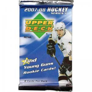 1st Paket 2007-08 Upper Deck Series 1 Retail (Silverkant)