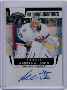 Anders Nilsson 2011-12 Certified Mirror Black #227 Autograph 1/1