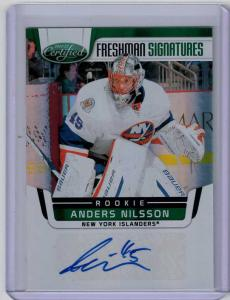 Anders Nilsson 2011-12 Certified Mirror Emerald #227 Autograph /5