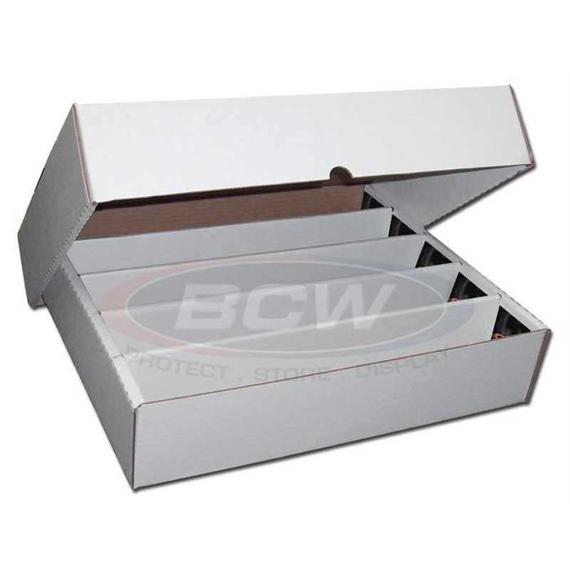 FULL LID Papplåda för ca. 5000 kort (5 rader) / 5000 Count Storage Box (Full Lid)