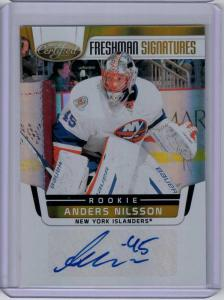 Anders Nilsson 2011-12 Certified Mirror Gold #227 Autograph /25