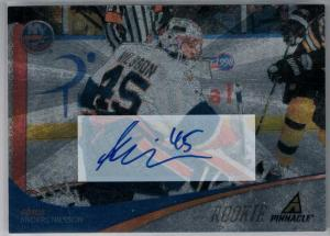 Anders Nilsson 2011-12 Pinnacle Ice Breakers Autographs #302