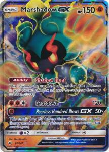 JUMBO, Marshadow GX - 80/147 (Oversized card)