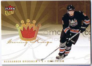 Alexander Ovechkin 2005-06 Ultra Scoring Kings Jerseys #SKJAO