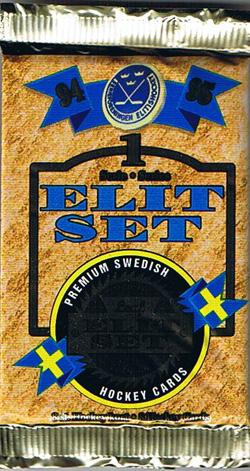 1 Pack 1994-95 Leaf Swedish SHL series 1
