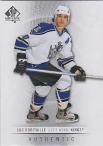 Luc Robitaille 2012-13 SP Authentic #102