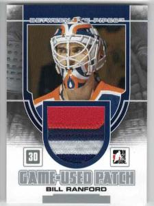 Bill Ranford 2013-14 Between the Pipes Jerseys Patch Silver #GUM28