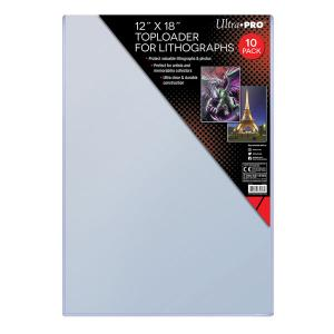 "12"" x 18"" (305 mm x 457 mm) Toploader for Lithographs 10ct"