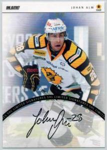 2013-14 SHL s.2 Signatures Limited #6 Johan Alm Skellefteå AIK