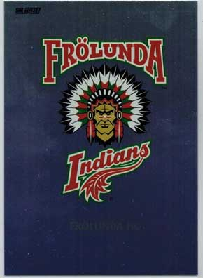 2013 14 Shl S 2 291 Team Logo Card Fr 246 Lunda Indians