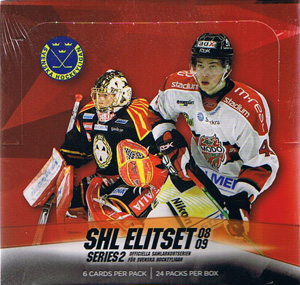 Sealed Box 2008-09 Swedish SHL series 2