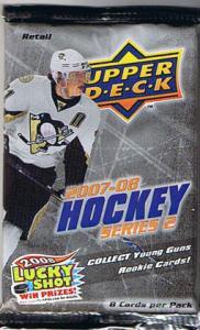 1st Paket 2007-08 Upper Deck, serie 2 Retail