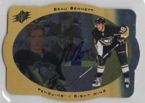 Beau Bennett 2013-14 SPx 96-97 SPx Retro Autographs #ARBB A