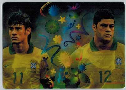 Double Trouble, 2014 Adrenalyn World Cup #413 Hulk / Neymar Jr.