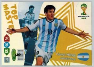 Top Master, 2014 Adrenalyn World Cup #406 Lionel Messi