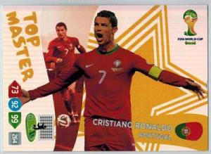 Top Master, 2014 Adrenalyn World Cup #411 Cristiano Ronaldo