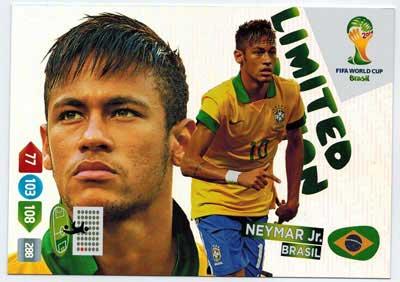 XXL Limited Edition, 2014 Adrenalyn World Cup, Neymar Jr.